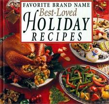Best-Loved Holiday Recipes