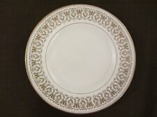 "WEDGWOOD Royal Tuscan GAINSBOROUGH  Large Plate 10.5""  27cm gold CABINET DINNER"