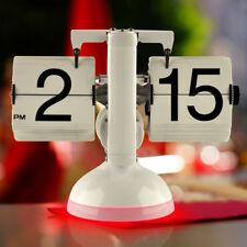 Gagatime Flip Clock - Klatsch Tischuhr mit LED - Tischuhr mit roter Beleuchtung