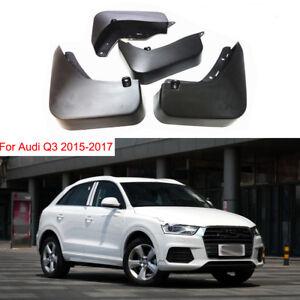 Genuine Set Splash Guards Mud Guards Mud Flaps 8U0075106/5111A For Audi Q3 15-17