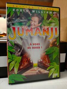 DVD JUMANJI * ROBIN WILLIAMS edition deluxe