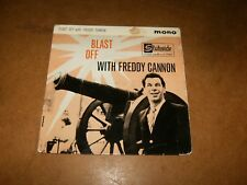 FREDDY CANNON  - EP UK STATESIDE 1002 - ONLY COVER NO RECORD