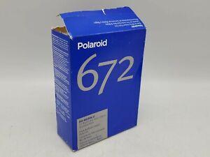 Expired/NOS 1 Pack Polaroid 672 B&W Instant 3 1/4 x 4 1/4 Pack Film 10 Photos