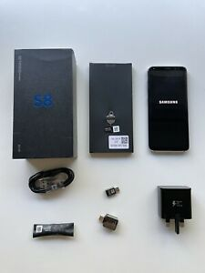 Samsung Galaxy S8 SM-G950F - 64GB - Orchid Gary Unlocked ✅Free Cover 📦Boxed