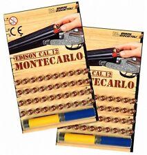 2x40 colpo MONTECARLO munizioni EDISON GIOCATTOLI cal.12 PER PALLINI fucile FUCILE