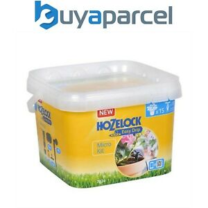 Hozelock 7024 Easy Drip System Micro Garden Watering Kit Up 15 Container Plants
