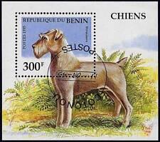 Benin 1995 Schnauzer Dogs S/S Domestic Animals