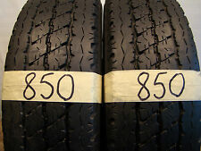 2 x Sommerreifen Bridgestone Duravis R 630  195/75 R16C, 107/105R. 7,0mm