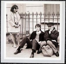 THE BEATLES POSTER PAGE . 1967 PAUL MCCARTNEY & IVOR CUTLER . H95