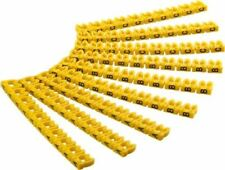 "Marcador De Cable Clips ""Cartas a – c'cable diámetros 4 mm 4 mm 3x30 Color Codificado"