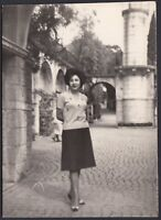 YZ1066 Gardone Riviera - Il Vittoriale - Fotografia d'epoca - 1963 vintage photo
