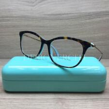 f0f2850b2c Tiffany   Co. TF 2157 Eyeglasses Havana Gold Turquoise 8134 Authentic 54mm