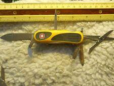 Wenger EVO Grip S18 Swiss Army knife yellow - retired
