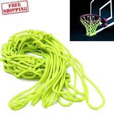 Basketball Hoop Net Glow in the Dark Outdoor Shoot Training Heavy Duty New US