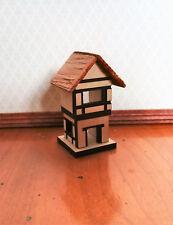 Dollhouse Miniature Tiny Medieval Tudor House Original Design Handmade