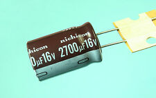 4pcs Nichicon PL 2700uf 16v 105C Radial Electrolytic Capacitor