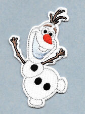 "Olaf - Frozen - Embroidered Iron On Applique Patch  - 3 1/8""H - HIGH QUALITY"