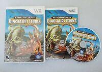Battle of Giants: Dinosaurs Strike (Nintendo Wii, 2010)