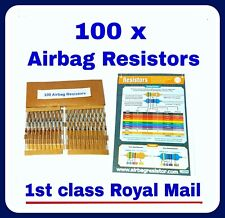 AIRBAG RESISTOR s 100 mixed PACK of SRS mot warning light bypass all makes tool