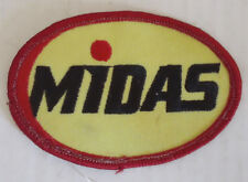 Midas total car care  brakes oil Embroidered Patch Applique Badge Logo auto car