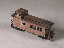 N Scale Custom Assembled Logging Caboose and Tools Section #303
