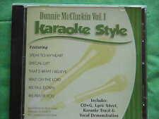 Donnie McClurkin~#1 ~ Christian~Daywind~Karaoke Style ~ Wait on the Lord ~ CD+G