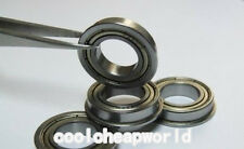 10pcs Miniature Flange Bearing 2x5x2.3mm 2x5x2.3 F682ZZ