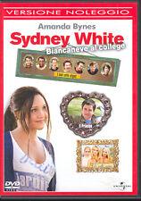 SYDNEY WHITE - BIANCANEVE AL COLLEGE - DVD (USATO EX RENTAL)