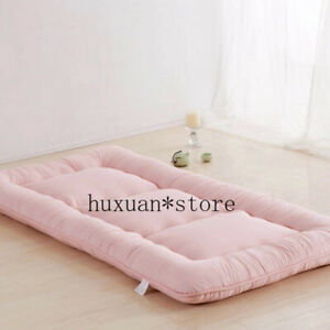 Luxury Candy Colors Tatami Mats Bed Mattress Cushion Plush Pad Bedroom Sofa Bed