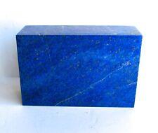 Vintage Carved LAPIS Lazuli JEWELRY Lid BOX lidded 1908g 4.3lbs