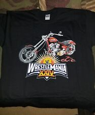 WWE Wrestlemania XXIV 24 Occ bike t shirt size XL rare vintage Ric flair hbk New