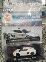 MAZZANTI EVANTRA 2013 SUPERCARS GT C. 1:43 #59 - DIE CAST MIB