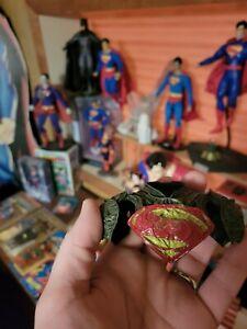 "1/6 Superman HOT TOYS 🔥 PAINTED JOR EL  ""S"" EMBLEM"