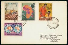 Mayfairstamps Burundi FDC 1969 Yaounde Anniversary Combo First Day Cover wwg_028