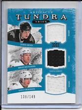 11-12 Artifacts Benn/Richards/Eriksson Tundra Trios Jersey #d/149