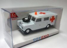 LAND ROVER LARGO LONG AMBULANCIA AMBULANCE 1/87 TOYEKO TOY EKO