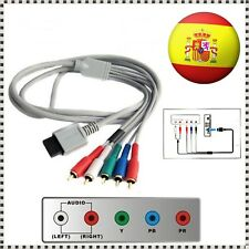Cable AV + HDMI para Nintendo Wii / Wii U Conector Multi out 5 componentes HDTV