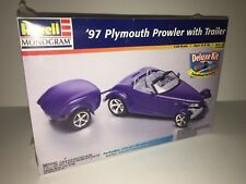 Revell Monogram 97 Plymouth Prowler with Trailer 1:25 Scale Model Kit #85-6667
