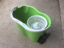 Turbo Easy Wring and Clean Microfibre Spin Bucket