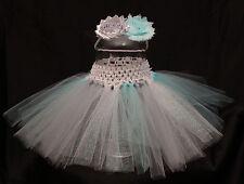 Baby Girl Halloween Princess Elsa Tutu Skirt Headband Photo Prop Costume Outfit