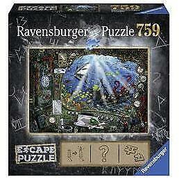 Ravensburger ESCAPE 4 Submarine Puzzle 759 Piece Jigsaw Puzzle
