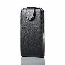 HTC One Mini Leather Flip Case - Flip Down Cover High Quality