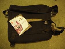 "Targus Canvas Messenger Work Black bag for 15.4""  laptop documents folders"
