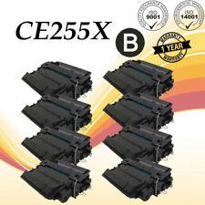 8pk CE255X 55X Black Toner Cartridge For HP LaserJet Pro 500 MFP M521DN M521DW