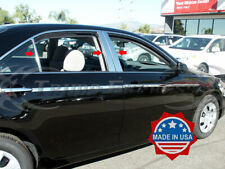2007-2011 Toyota Camry 6Pc Chrome Pillar Post Trim Stainless Steel Door Cover