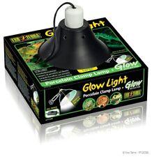 Exo terra Glow Light Large Portalampada Plafoniera con Braccio Terrario