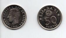 Juan Carlos I : 50 Pesetas 1980 (82) MUNDIAL 82 Sin Circular ( de cartucho )