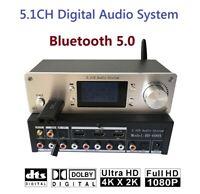 5.1CH Digital Audio SYS DTS/AC3 Fiber Coaxial Bluetooth USB2.0 Lossless Player
