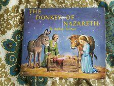 The Donkey of Nazareth by Audrey Tarrant Medici Society, Children's Book