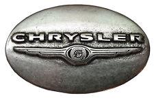 Norman K Modedesign Chrysler Gürtelschnalle, silber